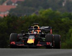 Pierre Gasly y Max Verstappen lideran en la lluviosa sesión de Libres 2 en Hungría