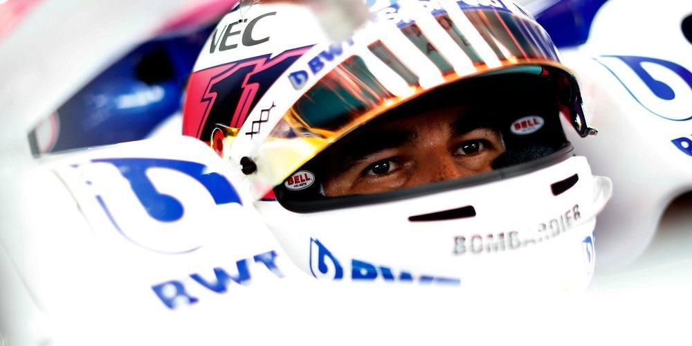 """Sergio Pérez: """"La maniobra de Ricciardo ha sido una locura"""""""