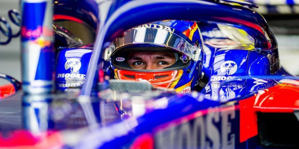 """Alexander Albon: """"Estoy realmente satisfecho con la duodécima posición en clasificación"""""""
