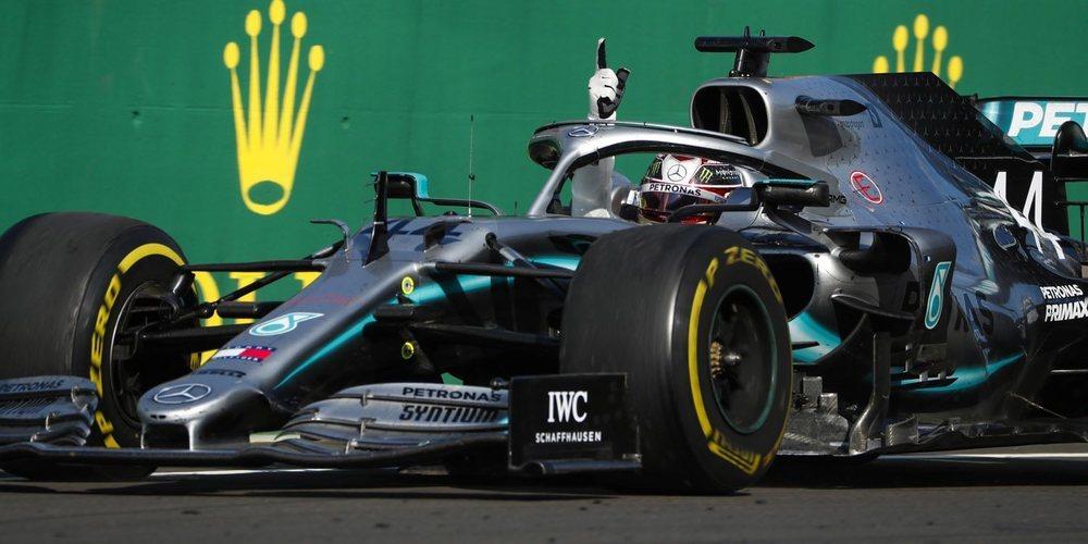 Lewis Hamilton se alza con el triunfo gracias a una inesperada estrategia de Mercedes en Hungría