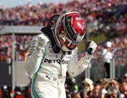 """Lewis Hamilton: """"He ido al límite todo el tiempo con las gomas medias"""""""