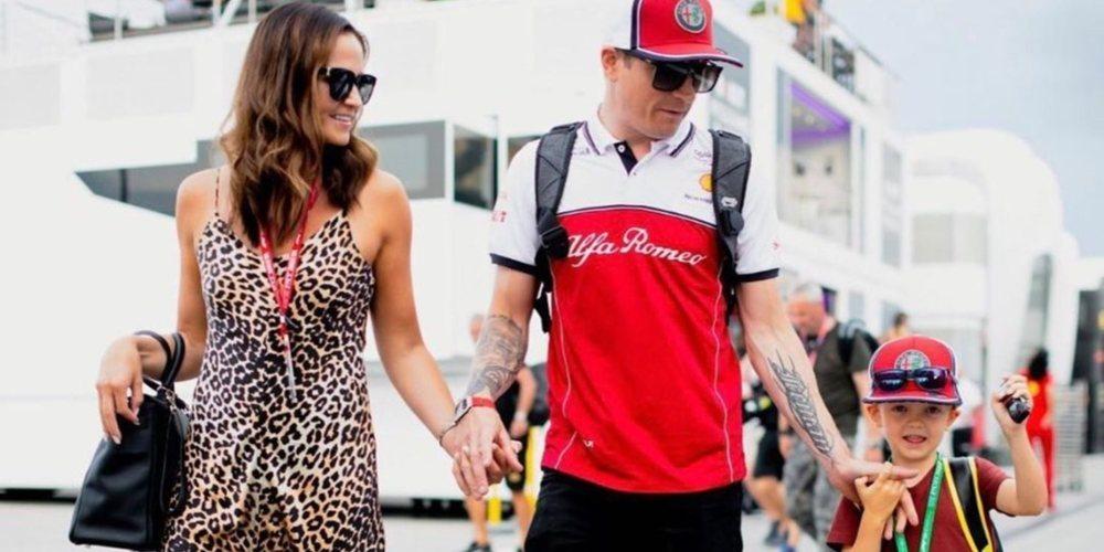 """Kimi Räikkönen: """"Espero pasar las vacaciones de verano con mi familia"""""""