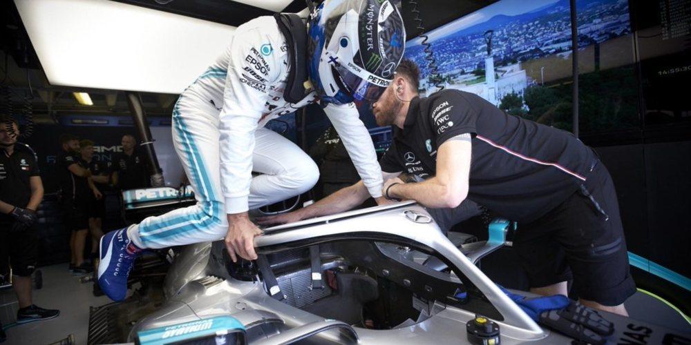 """Valtteri Bottas, sobre Hamilton: """"Ambos seguimos respetándonos y sabemos los límites"""""""