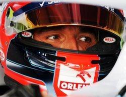 Robert Kubica admite ser más lento que su compañero de equipo a los mandos del FW42