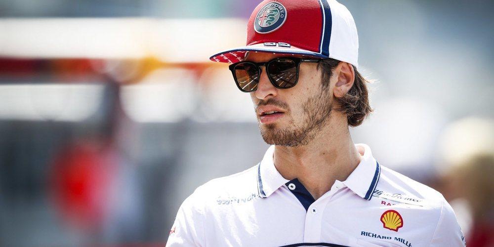 """Antonio Giovinazzi: """"Después de casi dos temporadas sin competir, no era fácil regresar a la F1"""""""