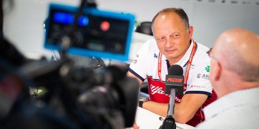 """Frédéric Vasseur: """"Hemos mejorado drásticamente, así que tenemos que seguir en esa dirección"""""""