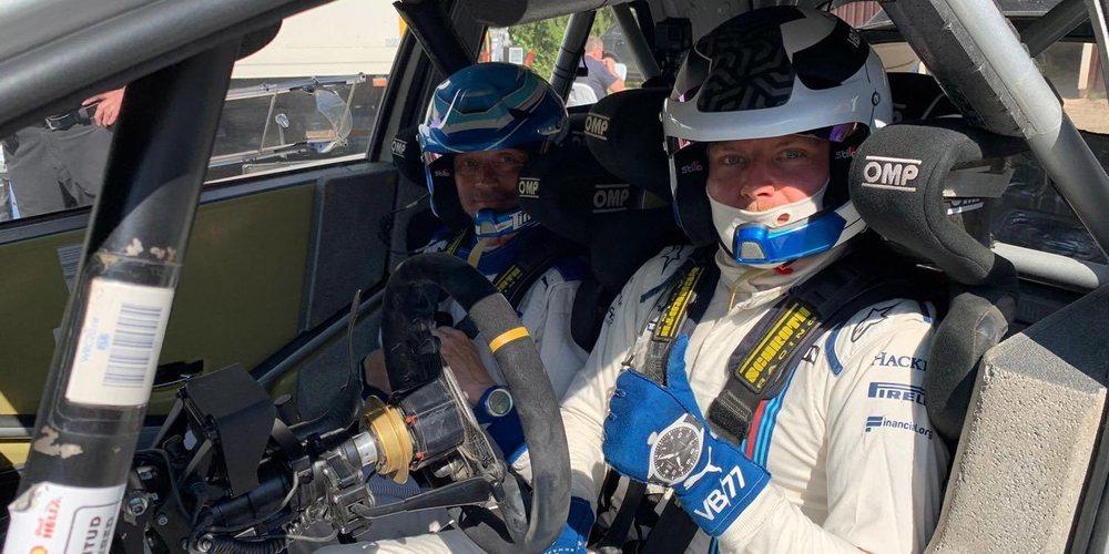 """Valtteri Bottas, sobre su experiencia pilotando un rally: """"Ha sido divertido y positivo"""""""