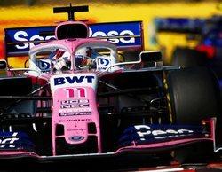 """Sergio Pérez: """"Cualquier mínima mejora puede situarte como el cuarto coche más rápido en Spa"""""""