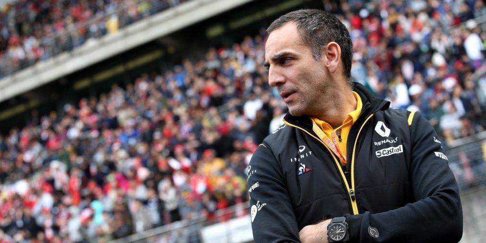 """Cyril Abiteboul: """"Ocon será un piloto de Renault en toda regla, Mercedes no tendrá ningún derecho"""""""