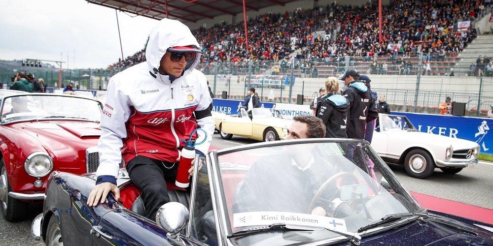 """Kimi Räikkönen: """"Es una pena; teníamos un gran coche en Spa"""""""