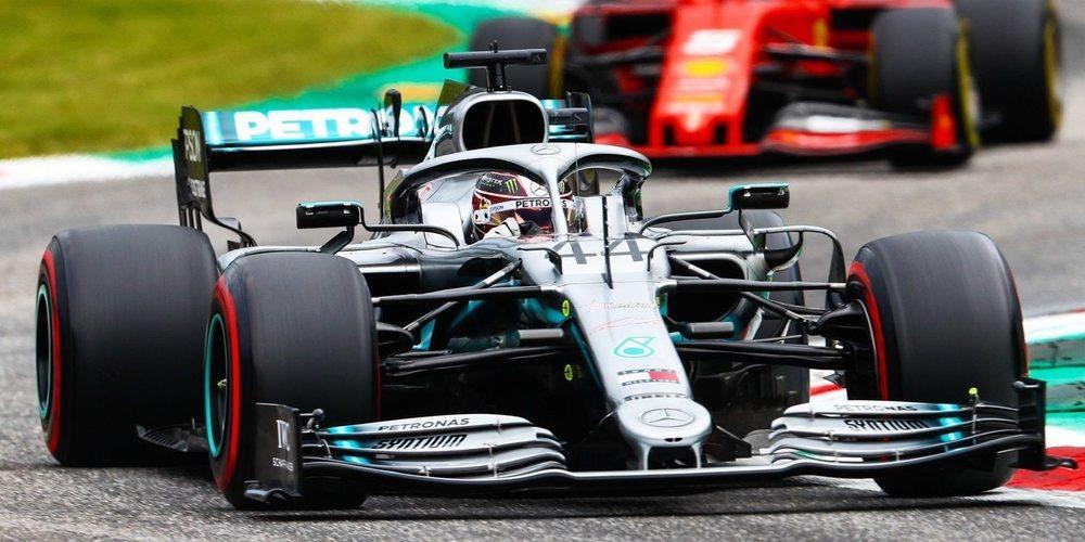 """Lewis Hamilton: """"Nuestro ritmo de carrera es fuerte"""""""