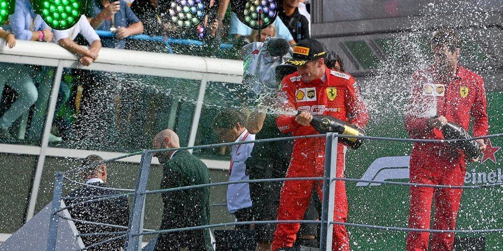 """Charles Leclerc: """"No hay palabras para describir las emociones que he sentido durante la carrera"""""""