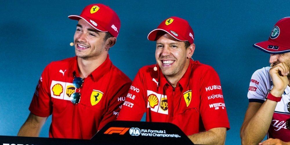 "Mattia Binotto: ""Vettel nos hace ser cada vez mejores"""