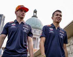 Max Verstappen, el más rápido en la primera sesión de Libres del GP de Singapur