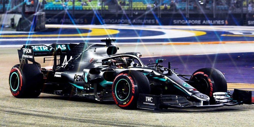 """Lewis Hamilton: """"Hemos mejorado las prestaciones de nuestro coche, así que estoy muy contento"""""""