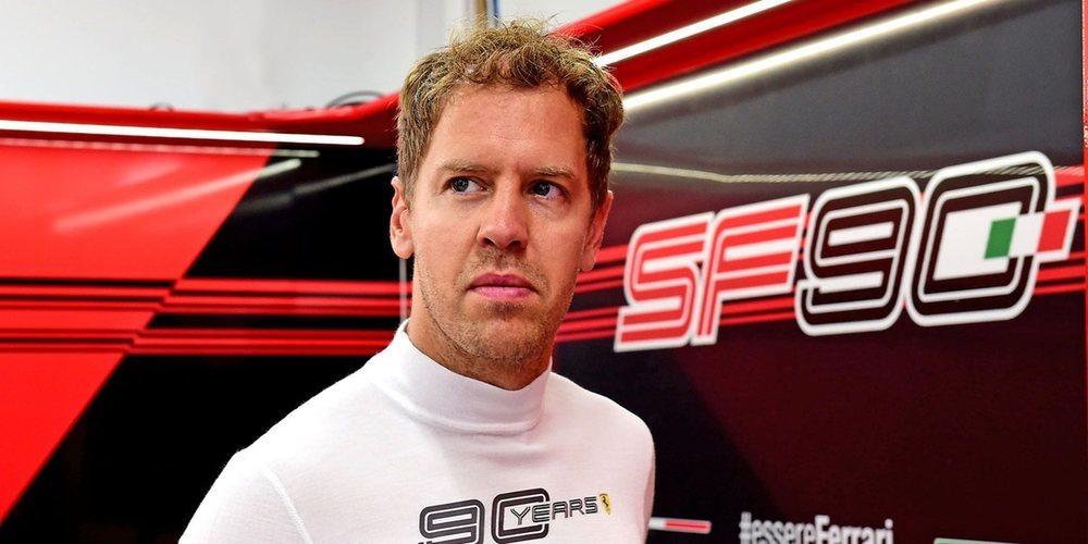 """Sebastian Vettel: """"Nuestros rivales son más rápidos que nosotros"""""""