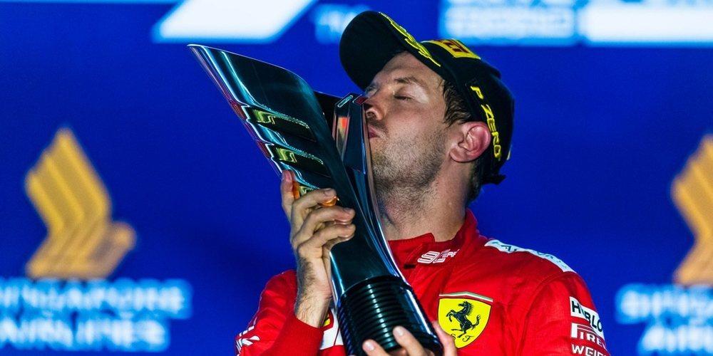 """La prensa italiana recula con Vettel: """"El viejo capitán vuelve a la victoria"""""""