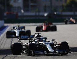 Lewis Hamilton se beneficia de la debacle de Ferrari y logra la victoria en Rusia