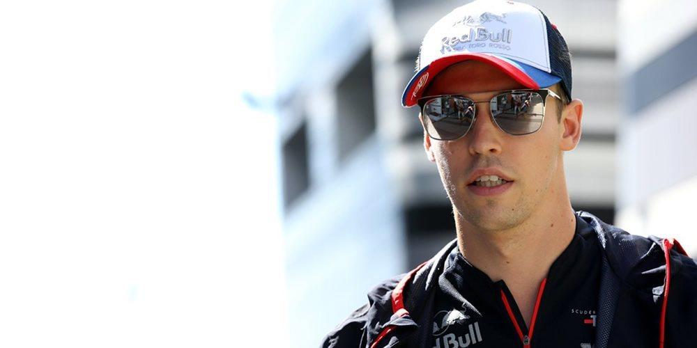 """Daniil Kvyat: """"Estoy satisfecho con mi carrera porque terminamos muy cerca de los puntos"""""""