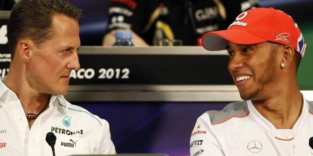 Villeneuve afirma que Schumacher y Hamilton solo han ganado cuando han tenido el mejor coche