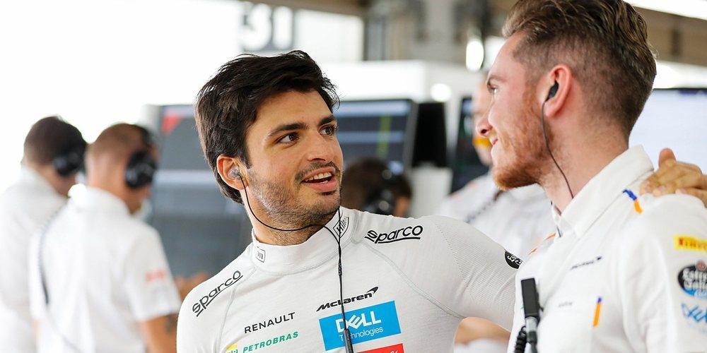 """Carlos Sainz: """"El monoplaza es rápido y somos competitivos"""""""