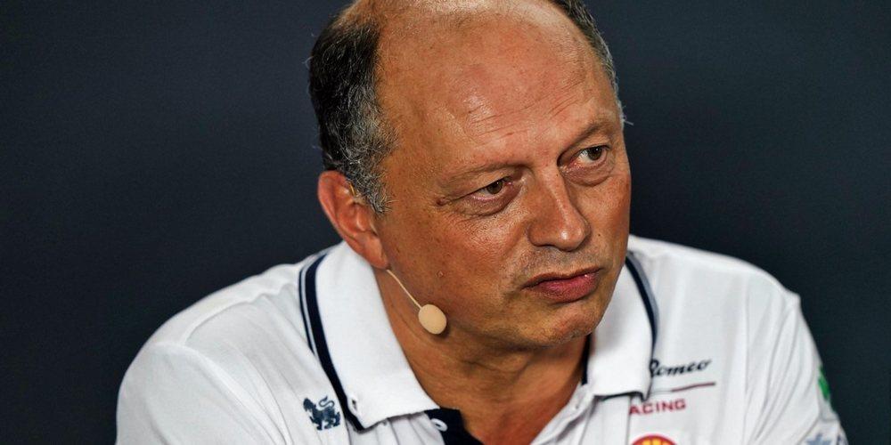 """Frédéric Vasseur: """"Antonio está haciendo un trabajo muy fuerte, tengo mucha confianza en él"""""""