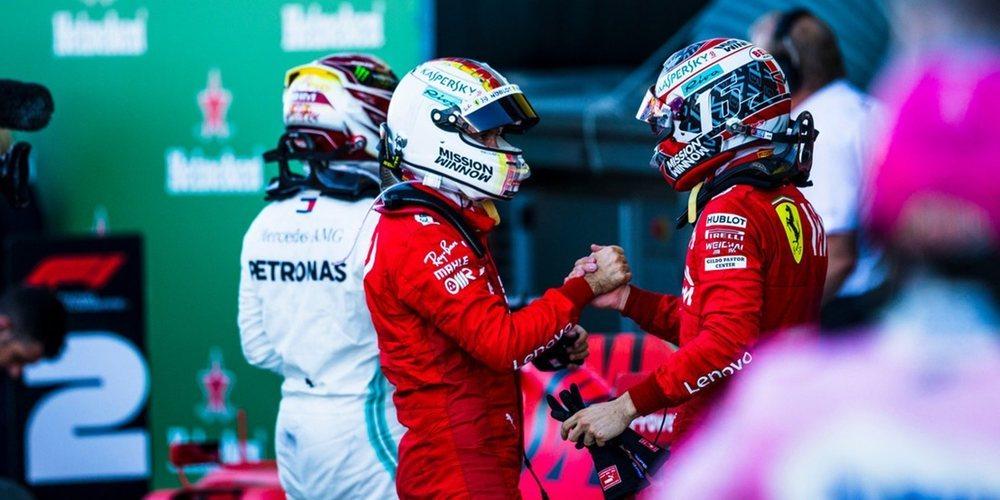 """Sebastian Vettel: """"Los Mercedes eran más rápidos que nosotros hoy"""""""