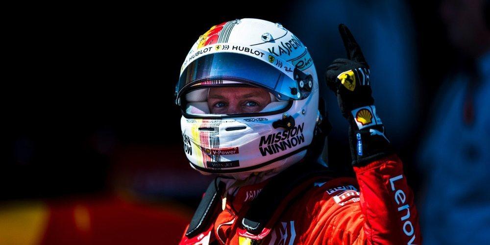 """Sebastian Vettel: """"Todavía hay margen de crecimiento, pero necesitamos trabajar mejor"""""""