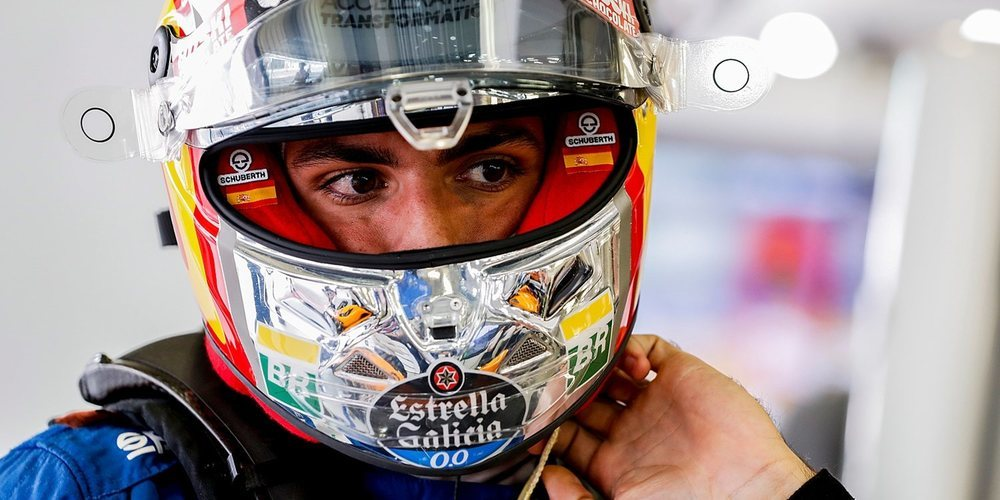"""Carlos Sainz: """"Mañana tendremos que gestionar los neumáticos con mucho cuidado"""""""
