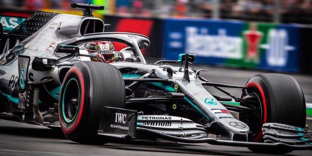 """Lewis Hamilton: """"Estoy emocionado por tener esa lucha con los Ferrari y los Red Bull en carrera"""""""