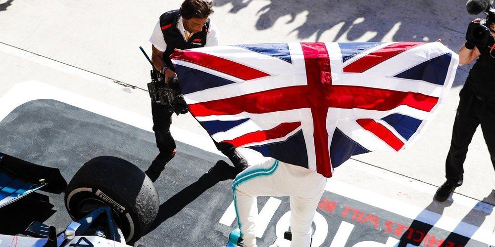 Bottas logra la victoria en Austin; Hamilton se alza con el sexto título y sigue haciendo historia