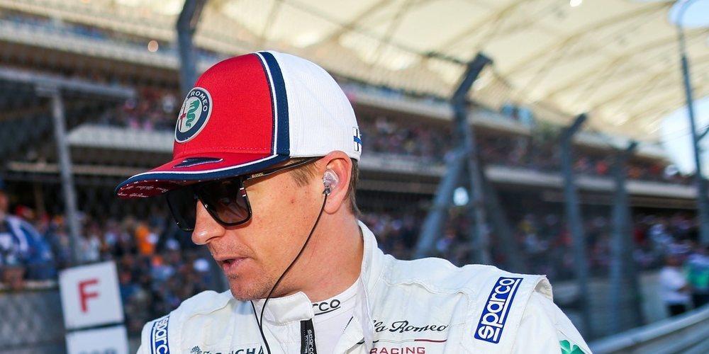 """Kimi Räikkönen: """"Hay muchas cosas positivas de esta carrera"""""""