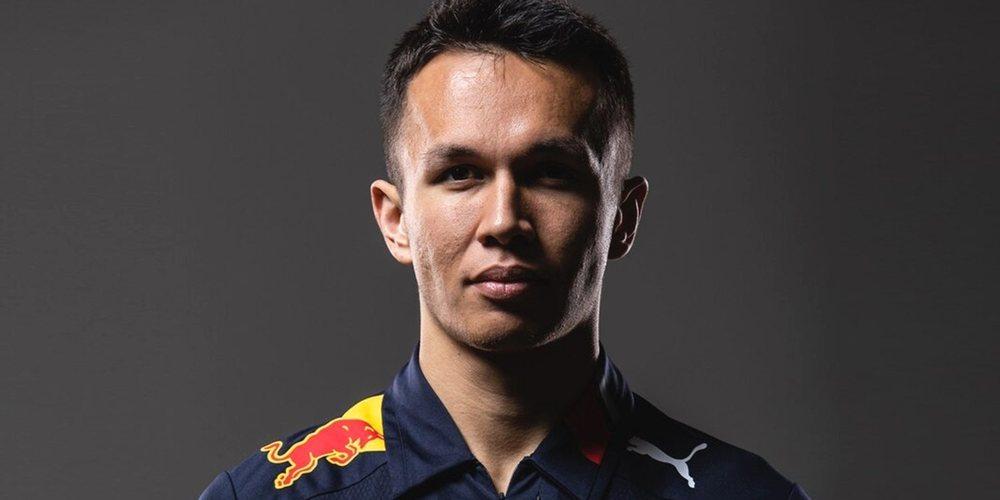 OFICIAL: Alexander Albon continuará en Red Bull la próxima temporada