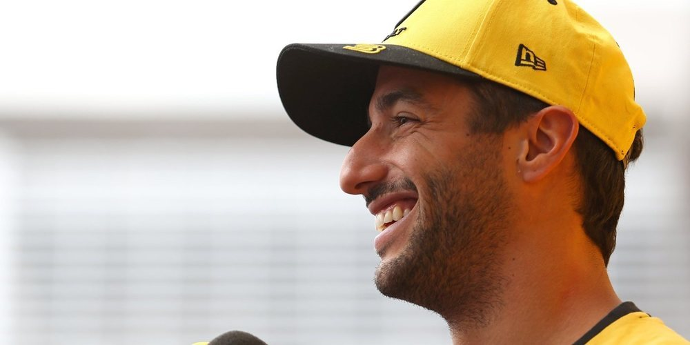 "Daniel Ricciardo: ""Estoy aprendiendo cosas estando en la zona media"""