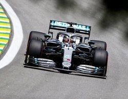 """Lewis Hamilton: """"Perdimos algo de tiempo en las rectas respecto a Ferrari y Red Bull"""""""