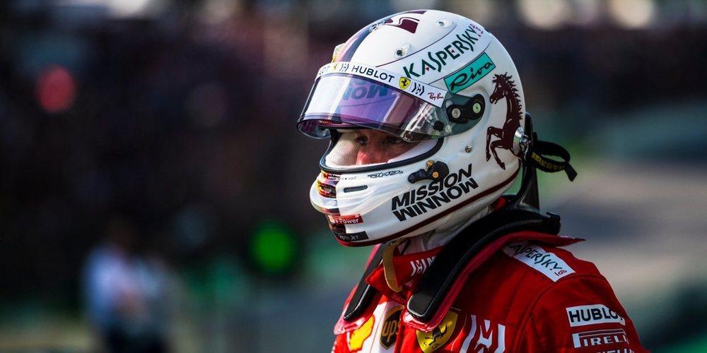 """Sebastian Vettel: """"Es bueno que nuestro tiempo de vuelta haya estado razonablemente cerca"""""""