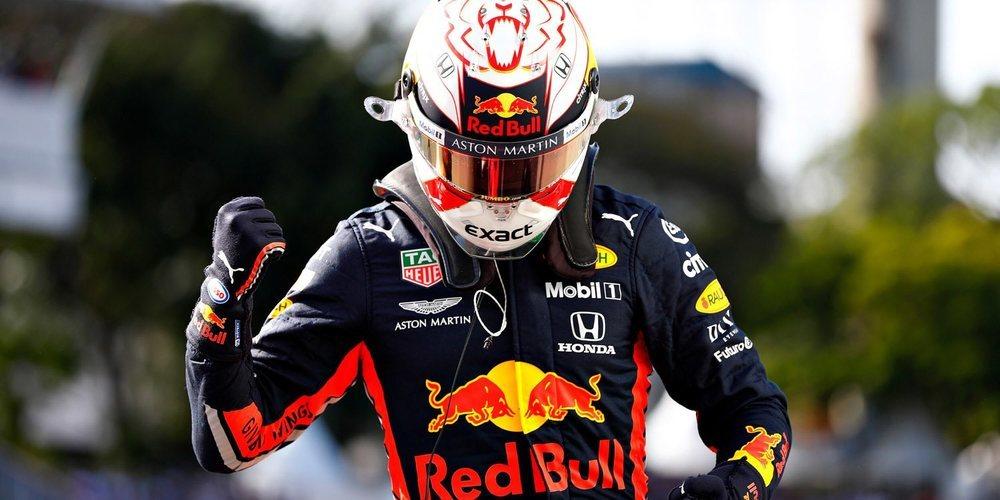 """Max Verstappen: """"Estoy muy contento por la pole, pero tenemos que rematarlo mañana"""""""
