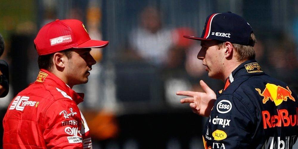 Ecclestone cree que la mejor alineación para Ferrari sería la formada por Leclerc y Verstappen