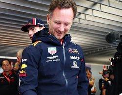 """Horner, sobre la rivalidad entre Vettel y Leclerc: """"El que siempre sale perdiendo es el equipo"""""""