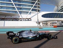 Valtteri Bottas lidera con soltura los primeros entrenamientos del GP de Abu Dabi