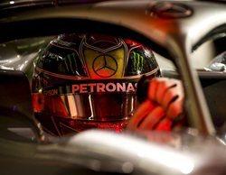 Lewis Hamilton hace brillar su estrella plateada para lograr la pole bajo la noche de Abu Dabi