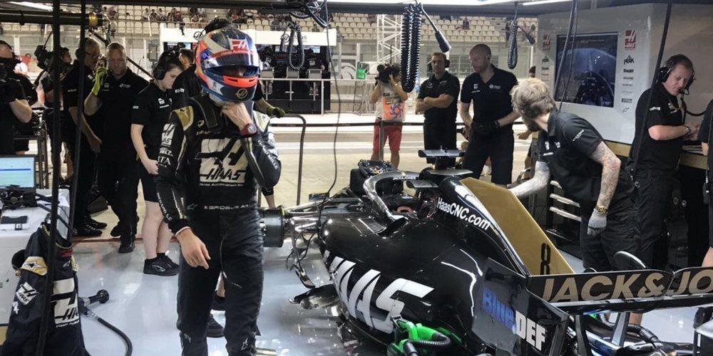 """Romain Grosjean: """"Configuras el coche y cuando llega la clasificación no se comporta igual"""""""