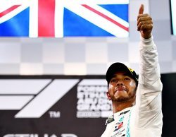 """Lewis Hamilton: """"Estoy agradecido por el duro trabajo y la dedicación del equipo este año"""""""