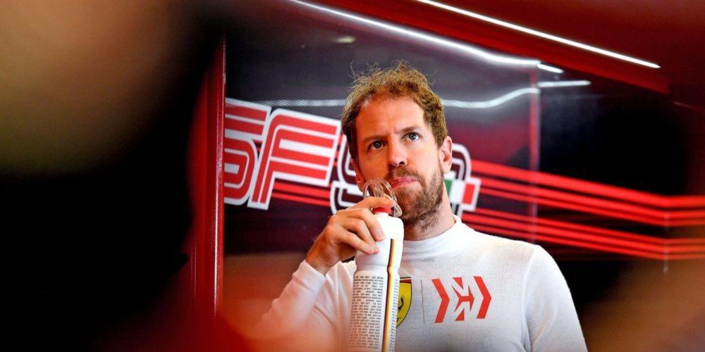 """Sebastian Vettel: """"Un día útil para tener una idea adecuada de los neumáticos 2020"""""""