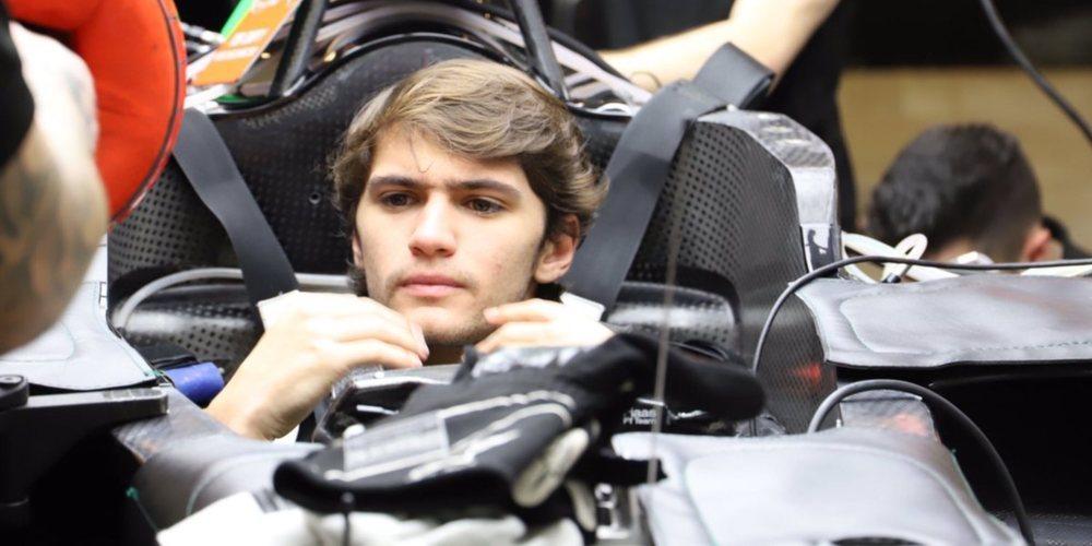 """Pietro Fittipaldi: """"Me gustaría ser el piloto reserva para el equipo, es un buen ambiente"""""""