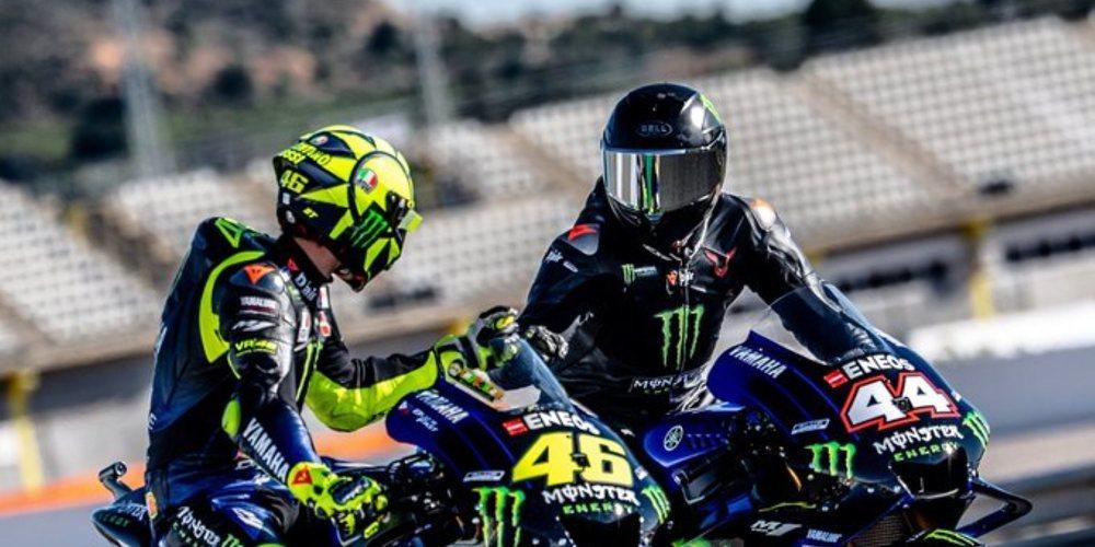 """Valentino Rossi: """"Espero que tengamos más experiencias como esta en el futuro"""""""