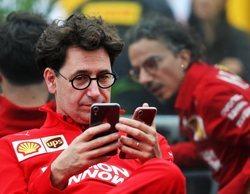 "Mattia Binotto, sobre posibles cambios: ""Más de un piloto está interesado en Ferrari"""