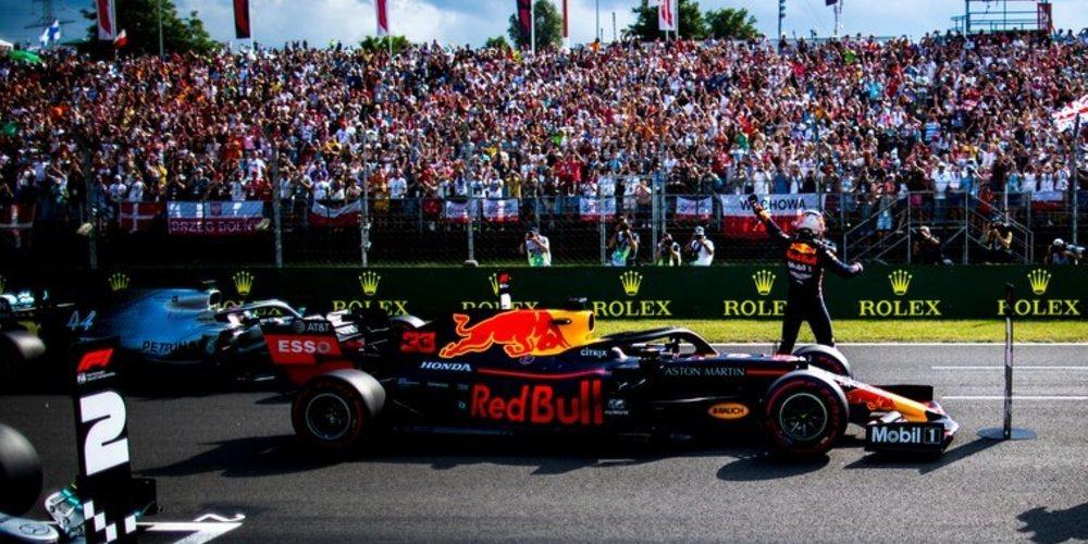 """Verstappen, sobre Honda: """"Hemos tenido un motor fiable, cumplieron todo lo prometido y más"""""""