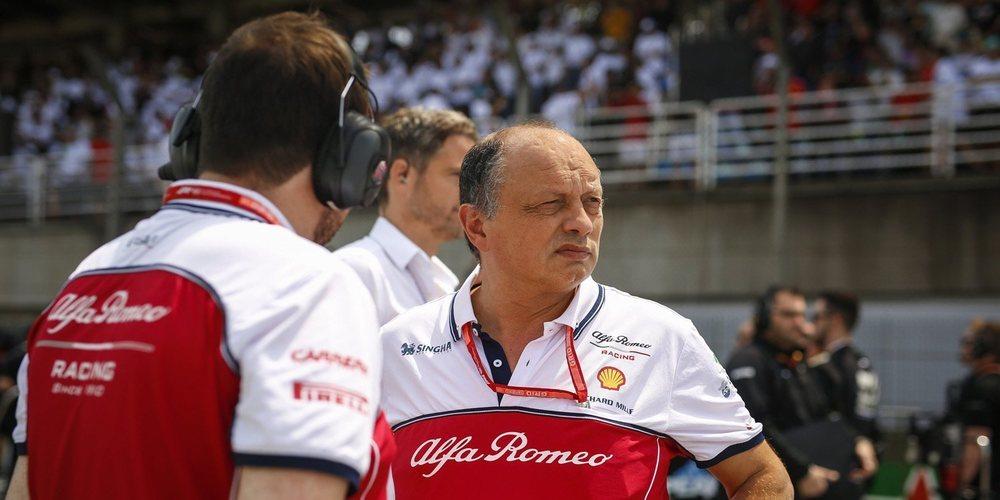 """Frédéric Vasseur: """"Necesitamos pilotos que nos acompañen para lograr el 6º puesto en 2020"""""""