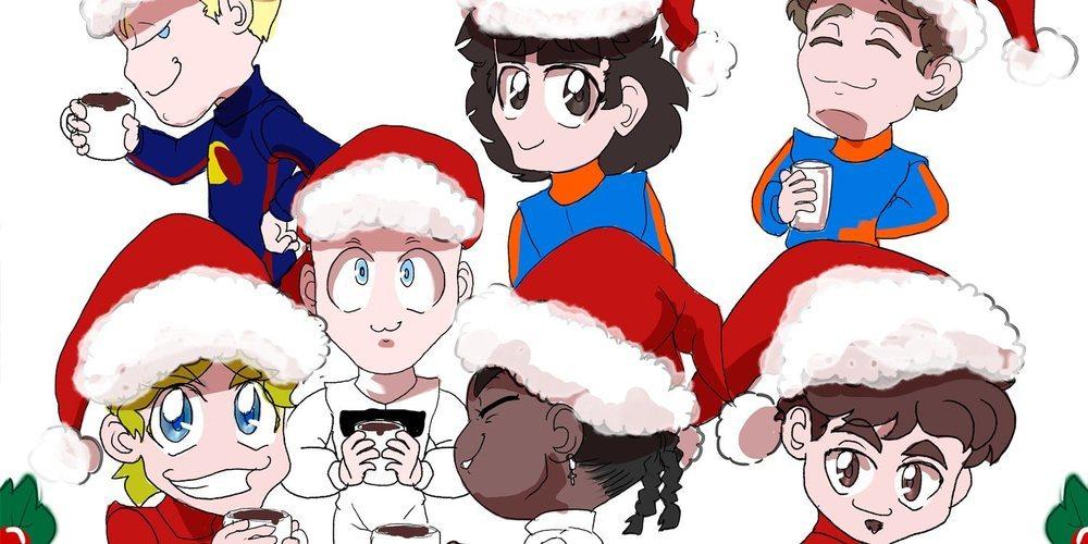 Los Chibis (292): Felices fiestas